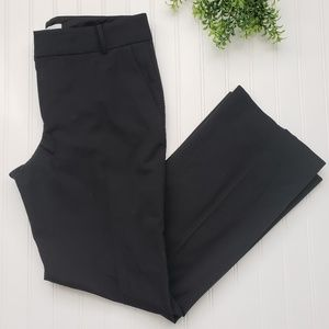 Banana Republic Black Martin Fit Wool Pants sz 10